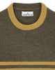 545B2 Gauzed Knit in Olive