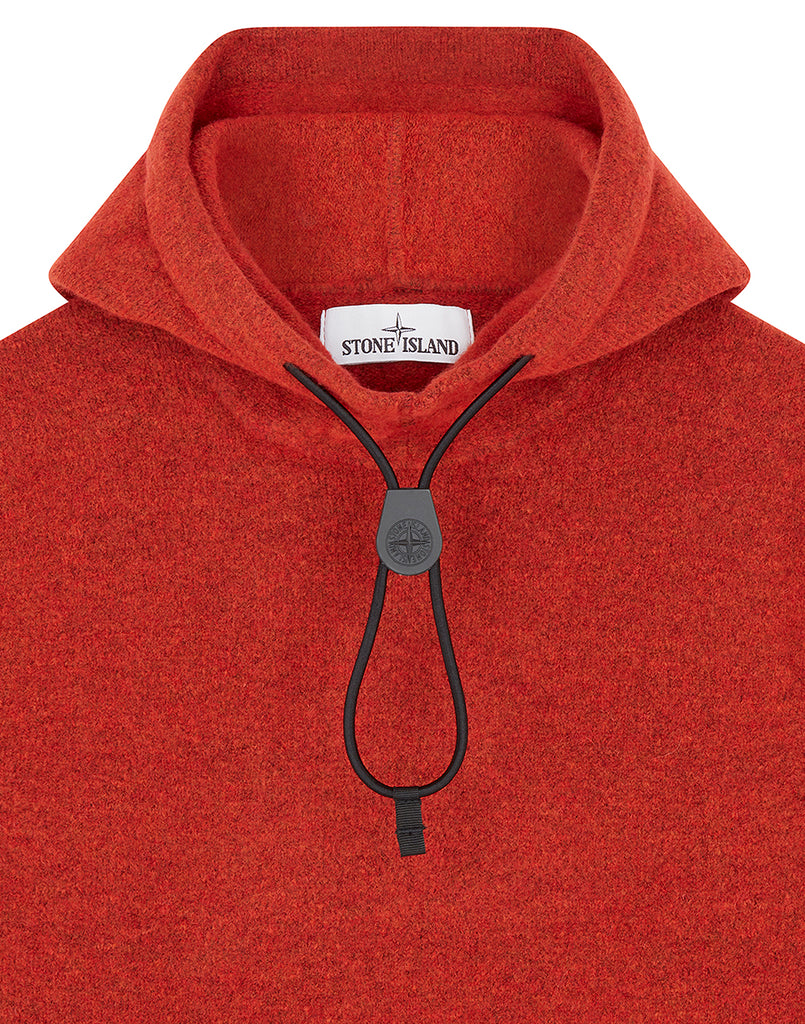 547B2 Hooded Knit in Orange