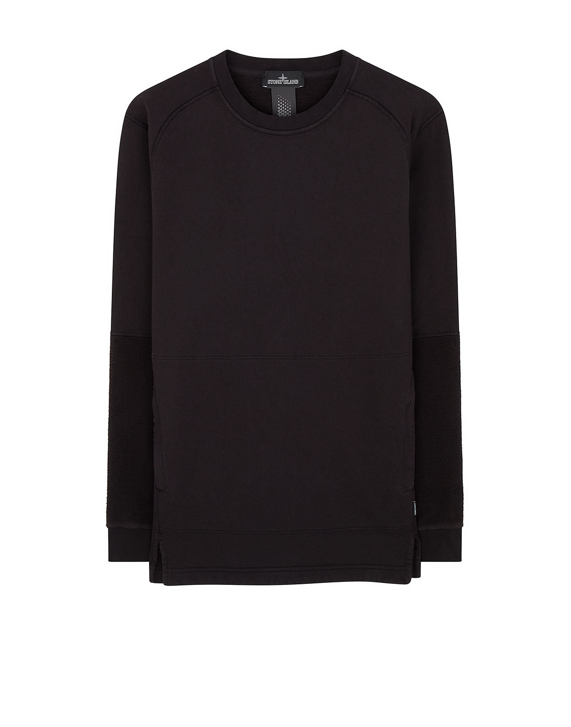60106 Invert Crewneck Sweatshirt in Black
