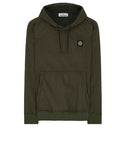 64034 POLY-COLOUR FRAME-TC: Hooded sweatshirt in Dark Forest