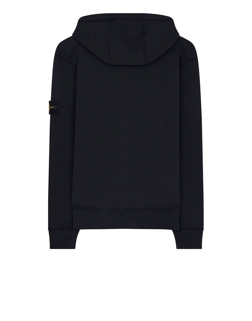 64220 Hooded full zip sweatshirt in Navy