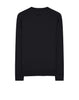 63094 3D THREAD COMPASS: Crewneck sweatshirt in Black