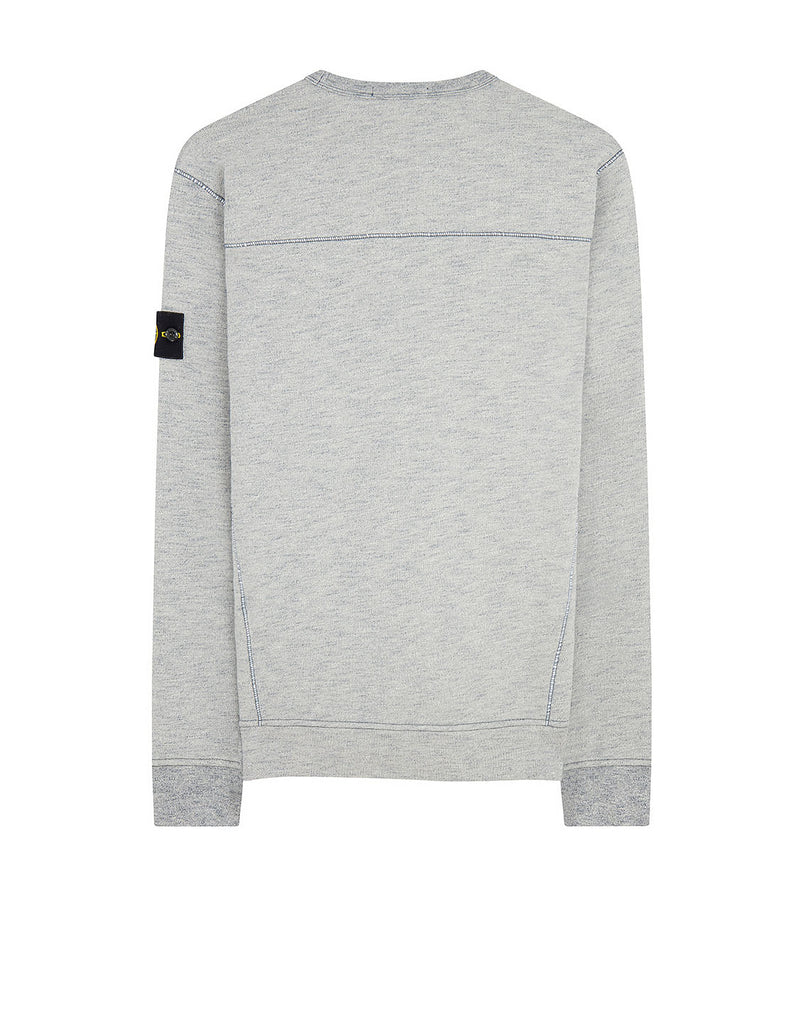 65437 Crewneck Sweatshirt in Mid Blue