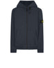 61150 Hooded full zip sweatshirt in Navy