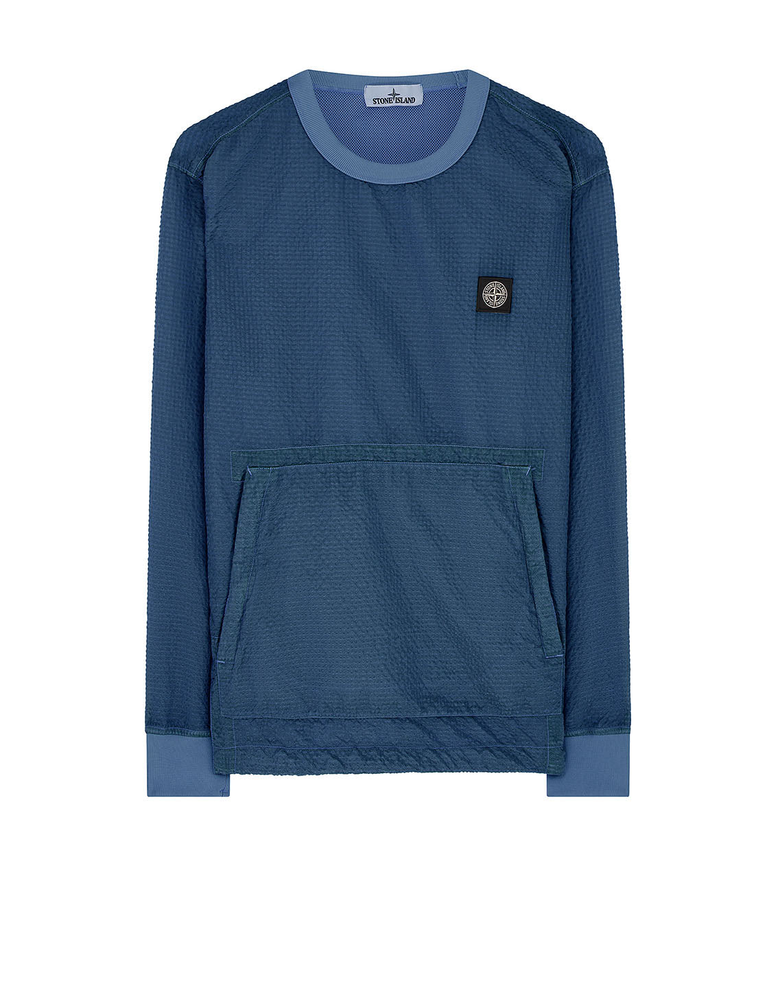 62434 POLY-COLOUR FRAME-TC: Crewneck sweatshirt in Periwinkle