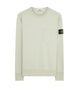 63820 Chest Pocket Crewneck Sweatshirt in Dust