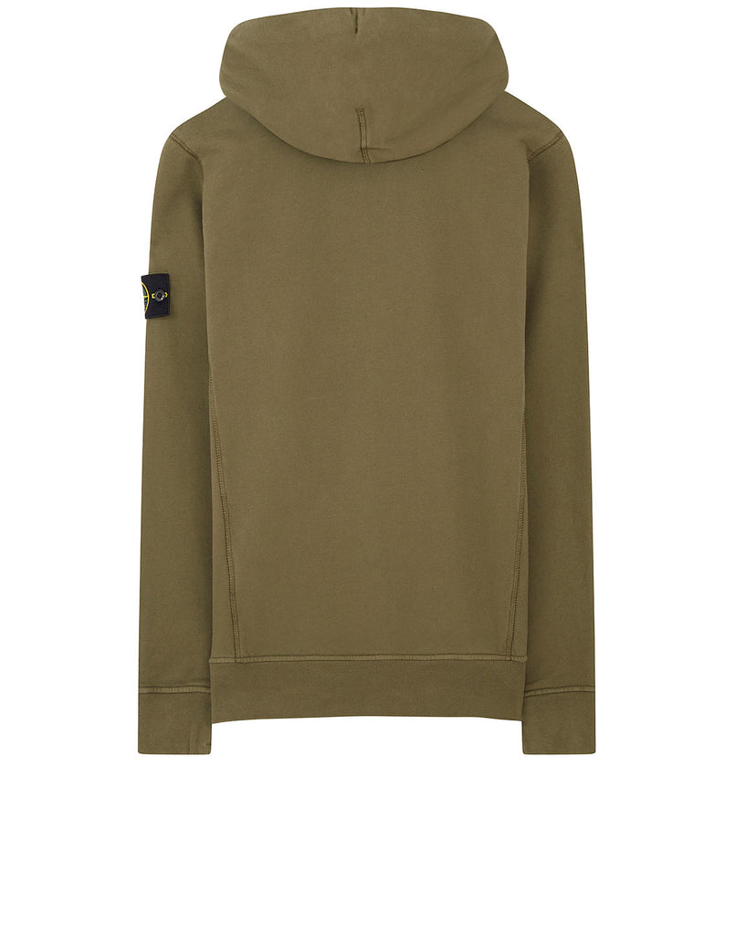 62820 Hooded Sweatshirt in Olive
