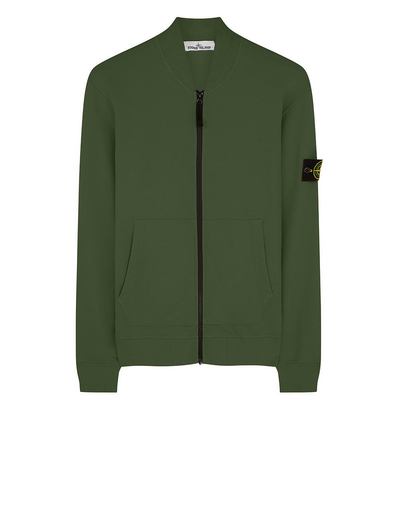 60220 Full zip Sweatshirt in Dark Forest