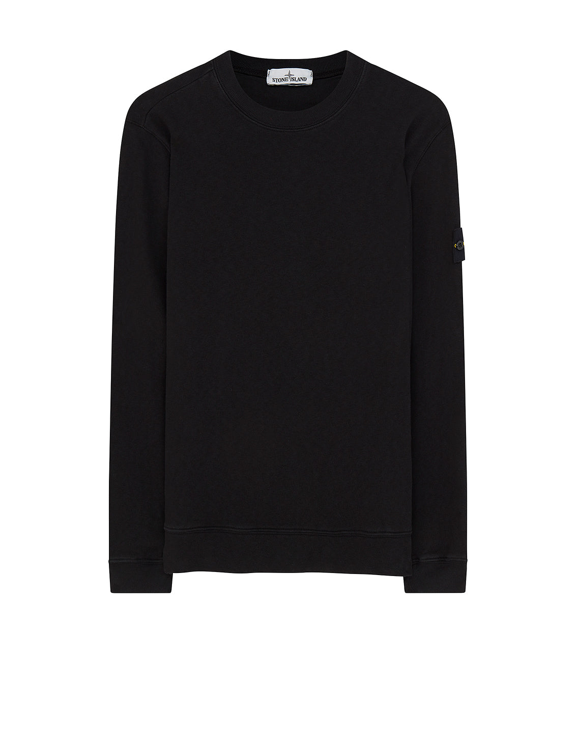 65560 'OLD' DYE TREATMENT Sweatshirt in Black