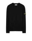 524C4 Crewneck Wool Knit in Black