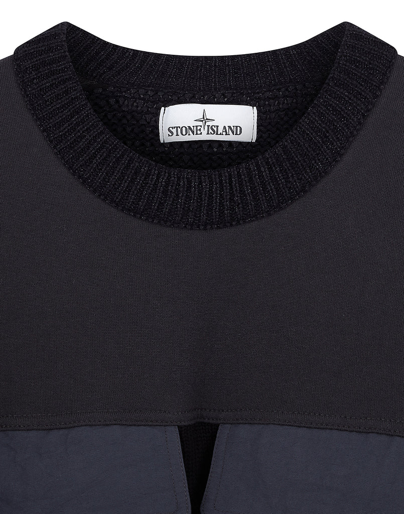 568D8 Bellows Pocket Knit in Black