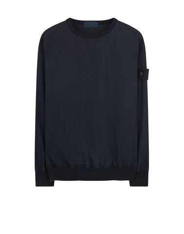 659F2 GHOST PIECE_COTTON NYLON TELA Sweatshirt in Navy