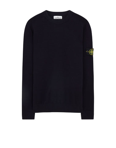 591A1 Wool Knit in Navy Blue