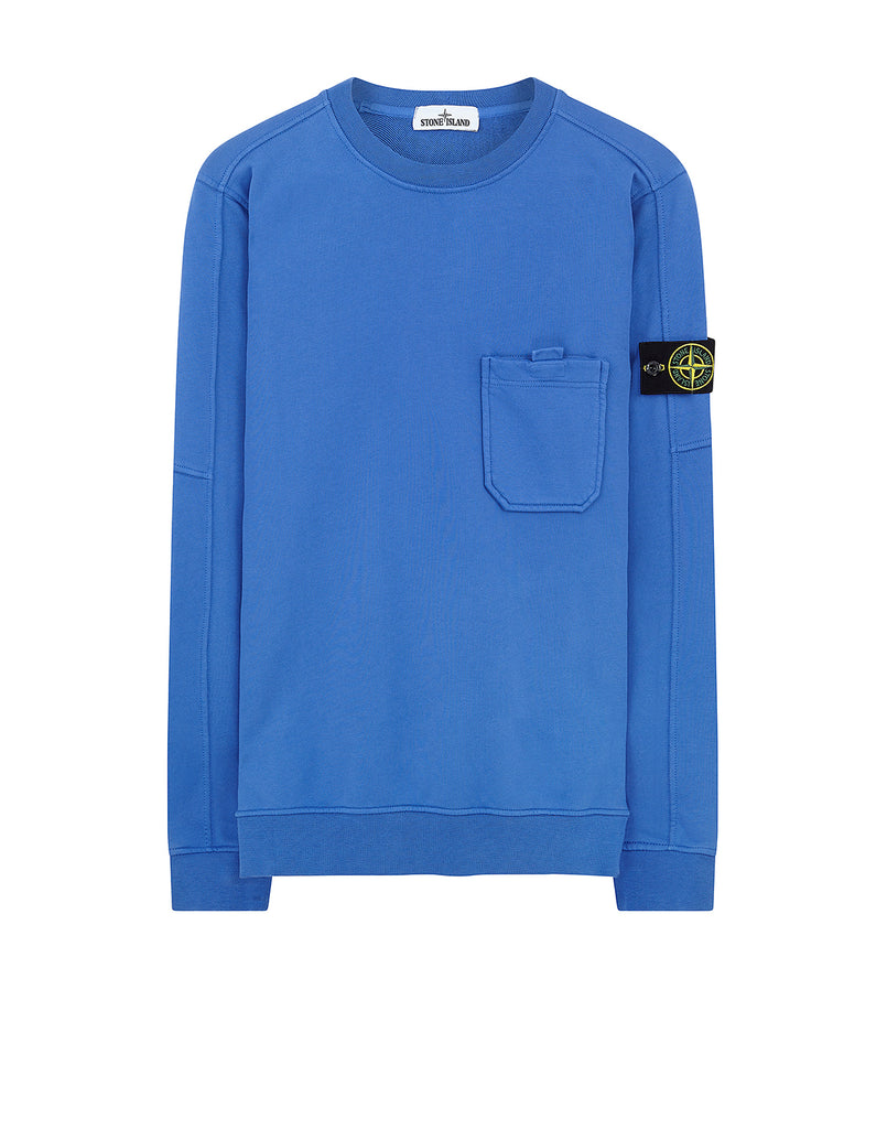 60651 Pocket Sweatshirt in Periwinkle