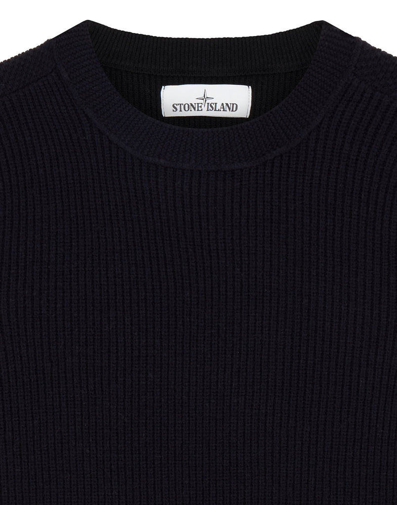 592A1 Crewneck Knit in Navy Blue