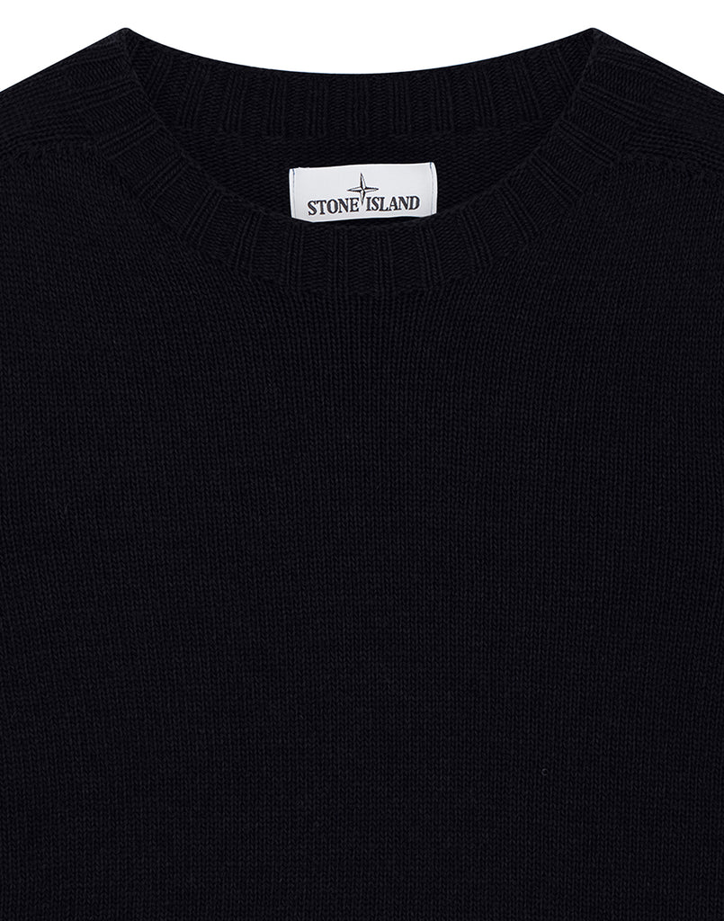 505A3 Lambswool Crewneck Knit in Navy