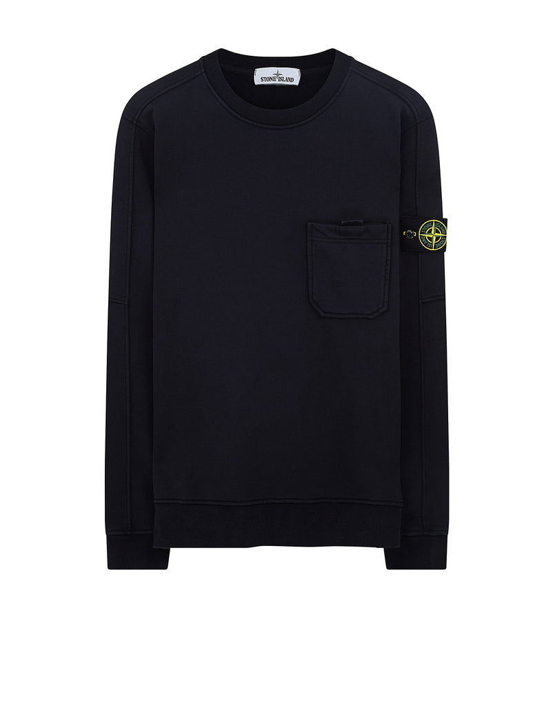 60651 Pocket Sweatshirt in Navy Blue
