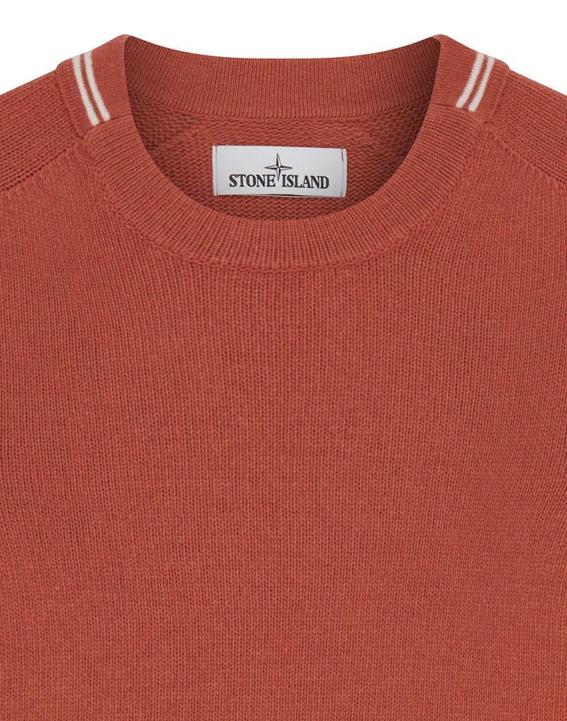 513A3 Lambswool Knit in Rust