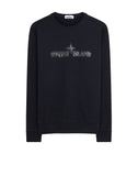 62790 'GRAPHIC ELEVEN' Crewneck Sweatshirt in Navy Blue