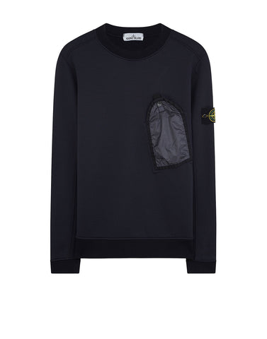 64046 Sweatshirt in Navy Blue