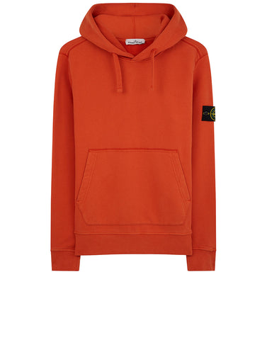 62820 Hooded Sweatshirt in Orange