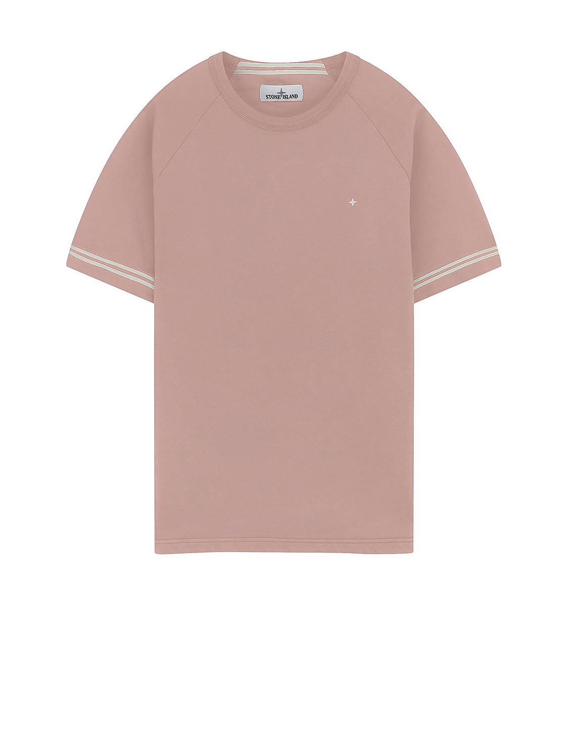 60651 Short Sleeve Sweatshirt in Onion Pink
