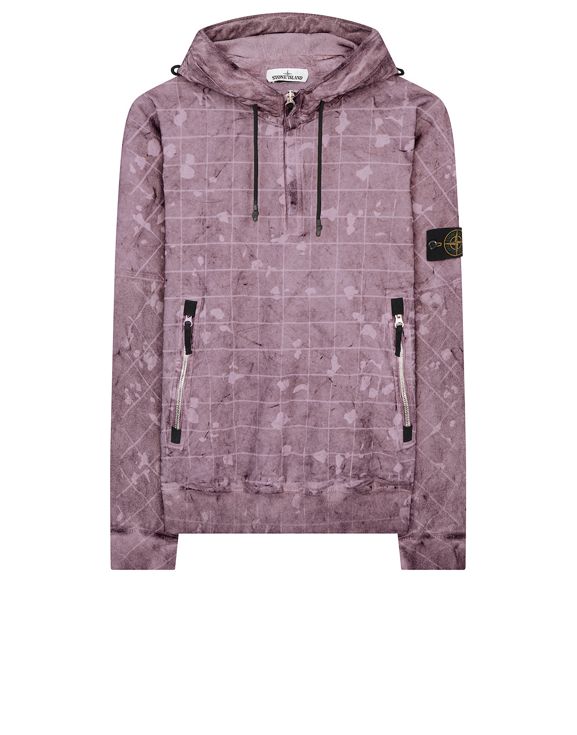 626E2 DUST COLOUR WITH GHILLIE LASER CAMO Sweatshirt in Violet
