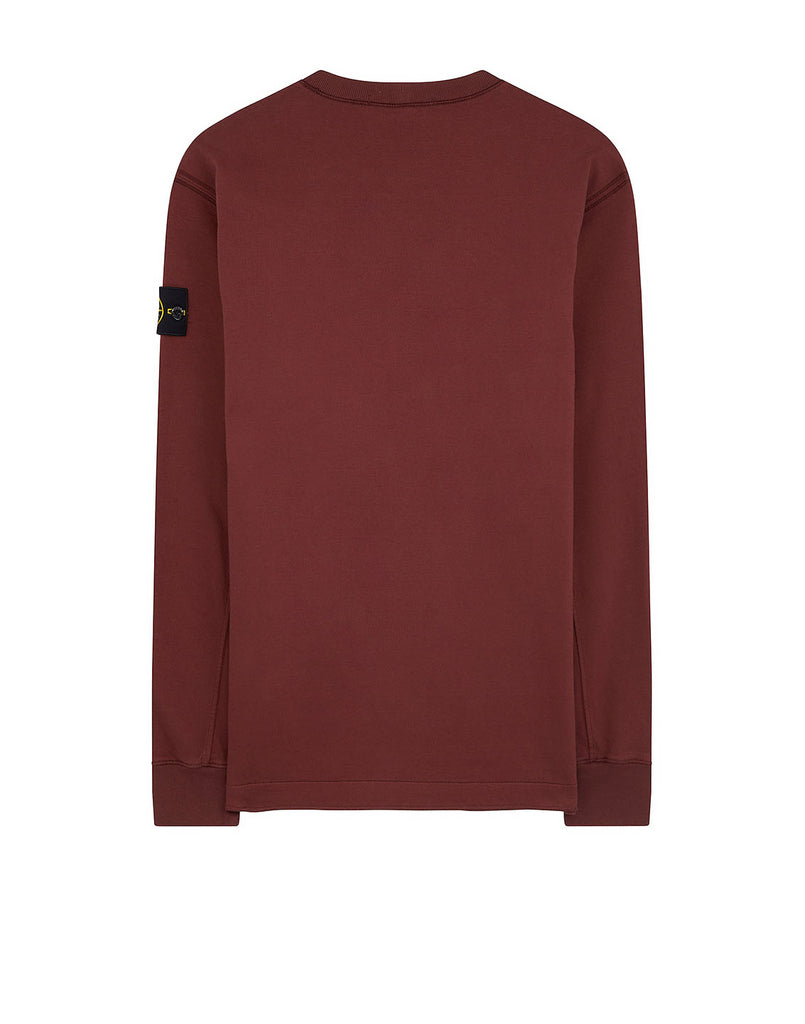 62350 Crewneck Sweatshirt in Dark Burgundy