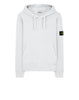 64120 Hooded Sweatshirt in White