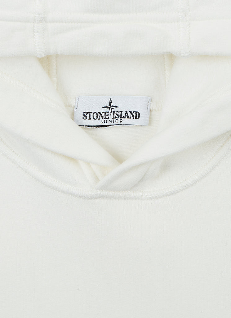 61640 Hooded Sweatshirt in White