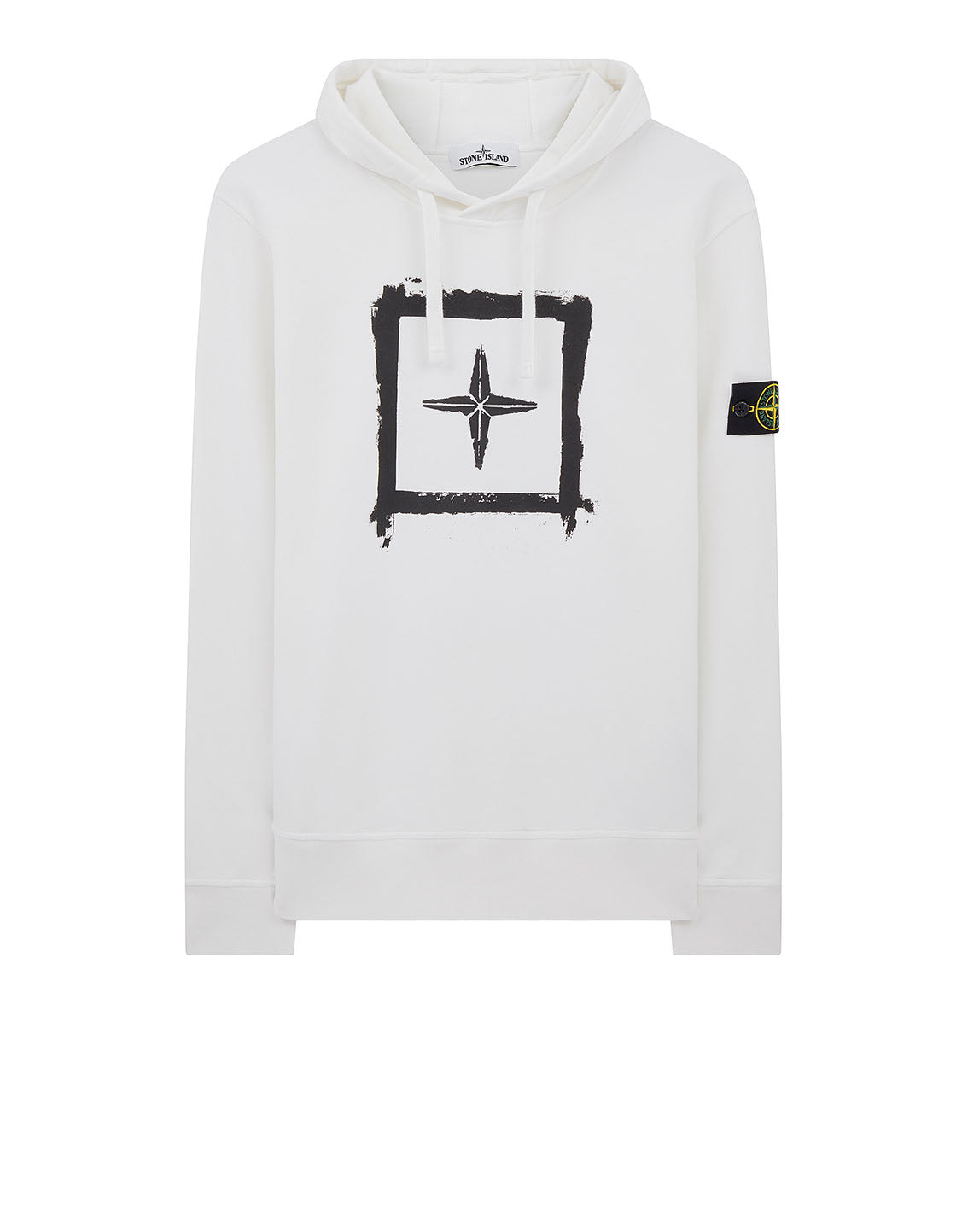 65894 'STENCIL SWEATSHIRT' in White