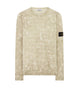 636E2 DUST COLOUR WITH GHILLIE LASER CAMO Sweatshirt in Butter