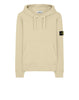 64120 Hooded sweatshirt in Butter