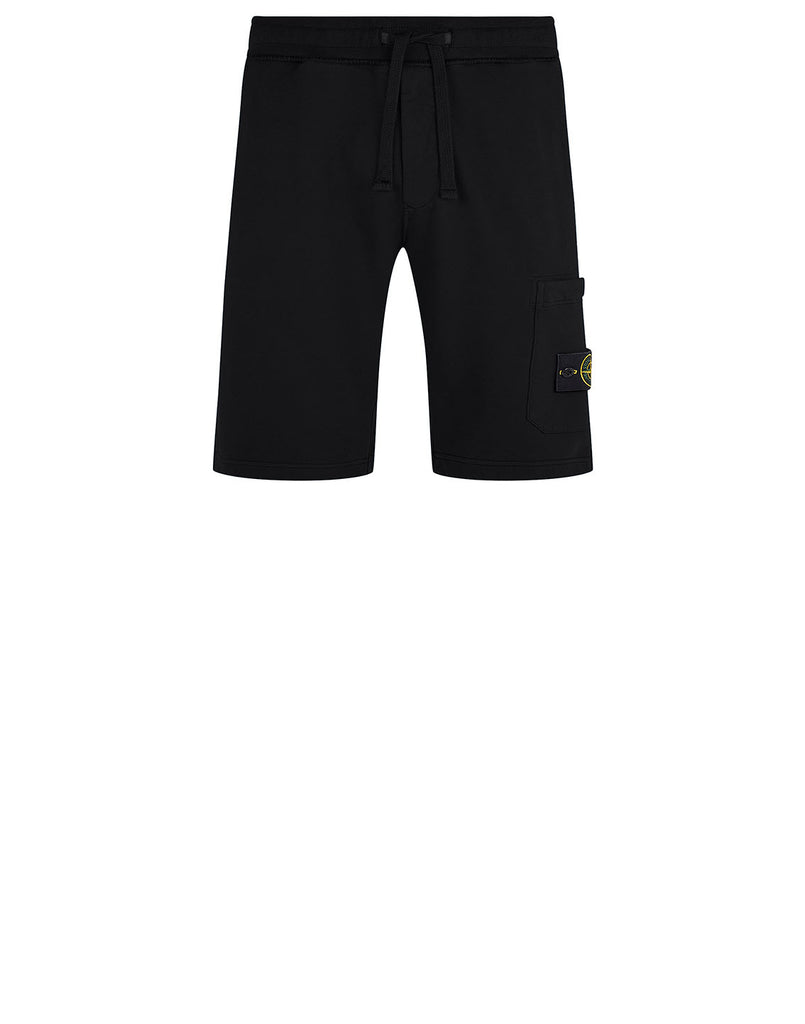 64620 Fleece Shorts in Black