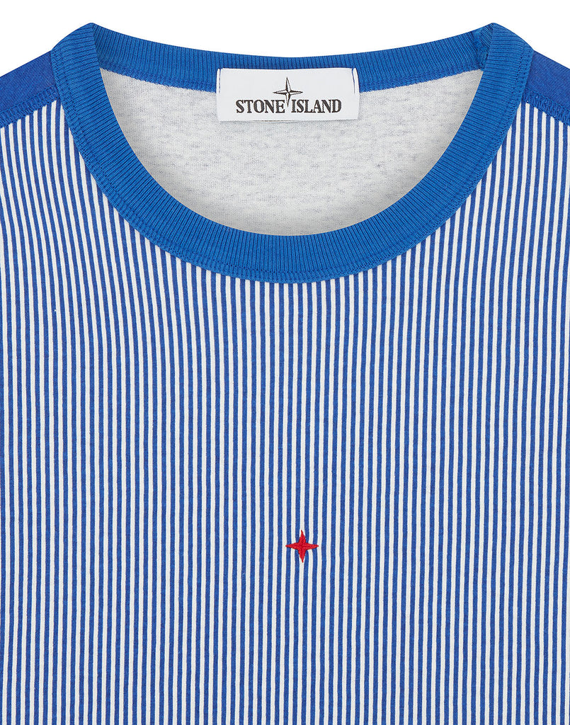 233X1 STONE ISLAND MARINA T-SHIRT in Periwinkle