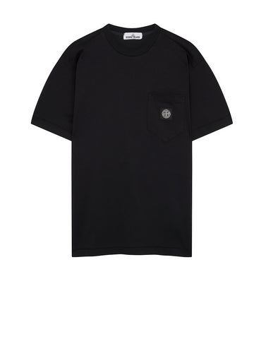 20113 Pocket Patch T-Shirt in Black