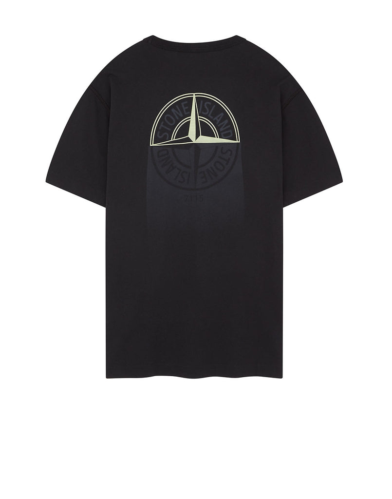 23380 'GRAPHIC ONE' PRINT T-Shirt in Black