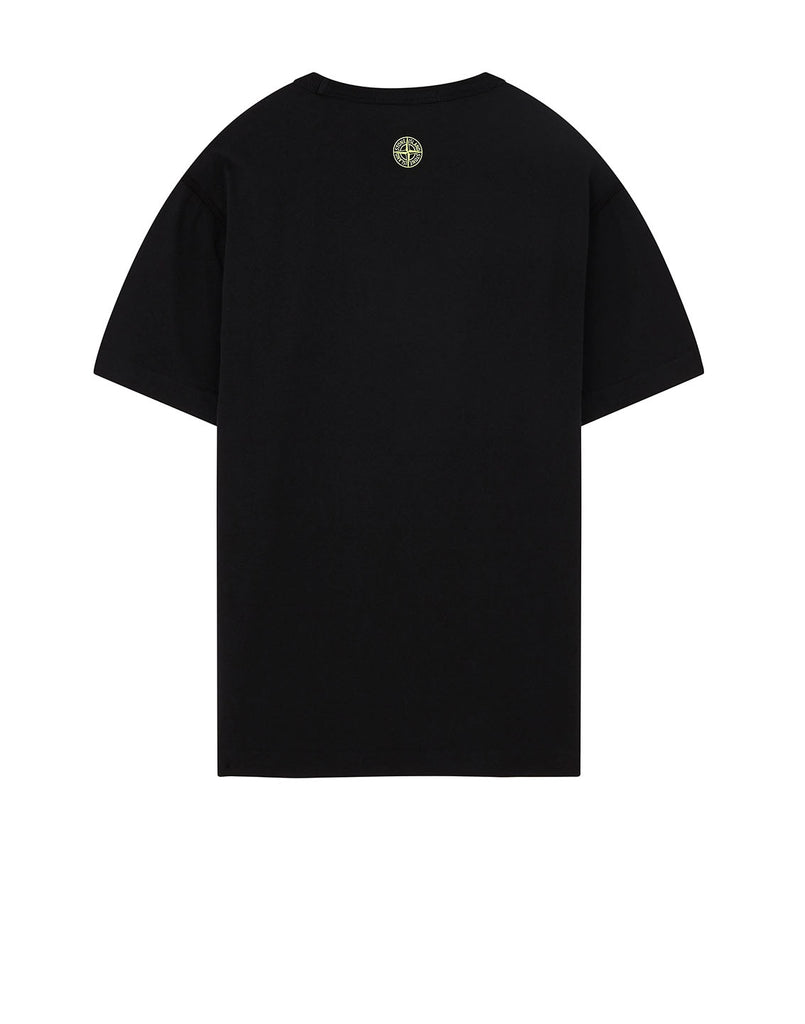 23381 'GRAPHIC TWO' PRINT T-Shirt in Black