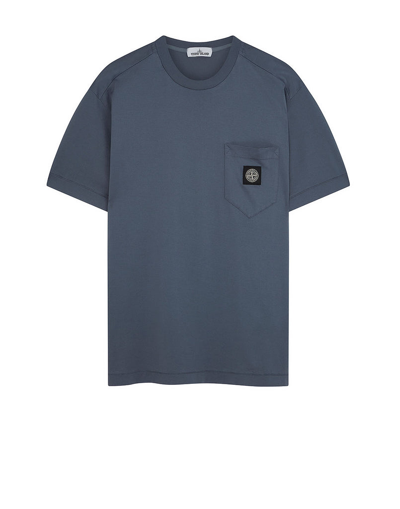 20113 Pocket Patch T-Shirt in Dark Blue