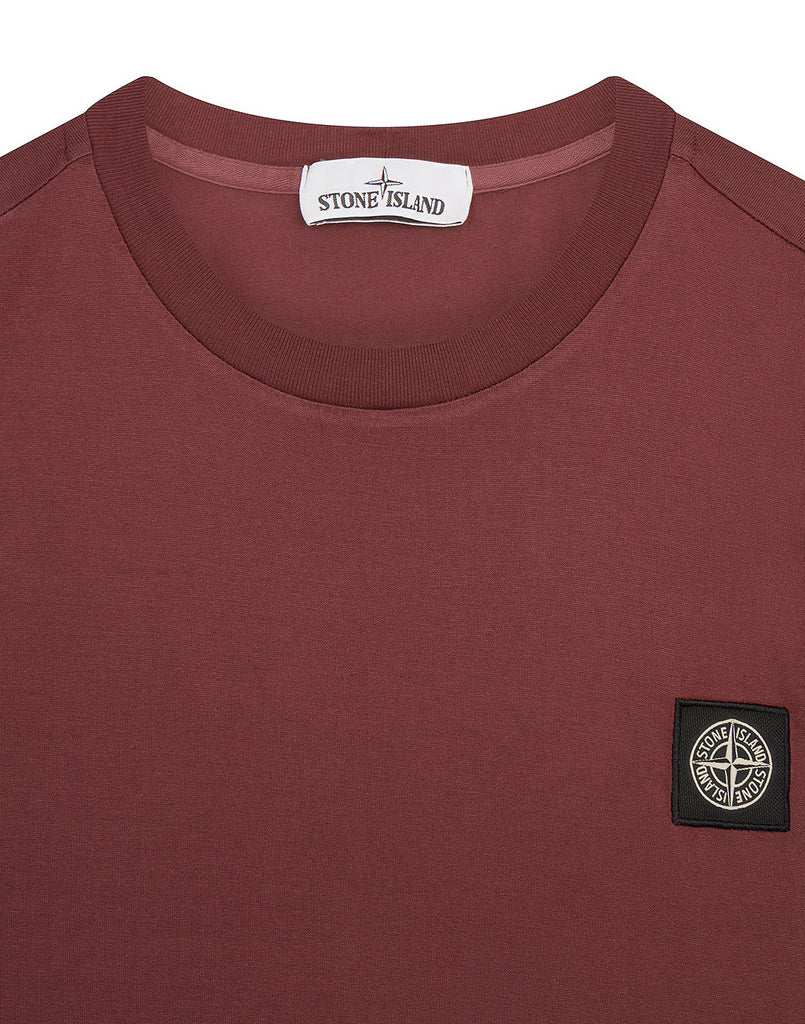 24113 T-Shirt in Dark Burgundy