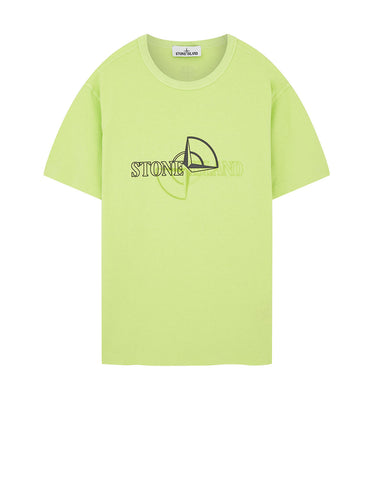 23381 'GRAPHIC TWO' PRINT T-Shirt in Pistachio
