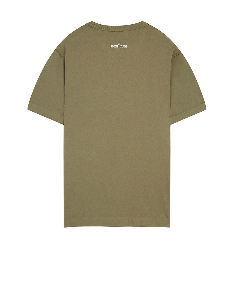 23383 GRAPHIC FOUR' T-Shirt in Olive