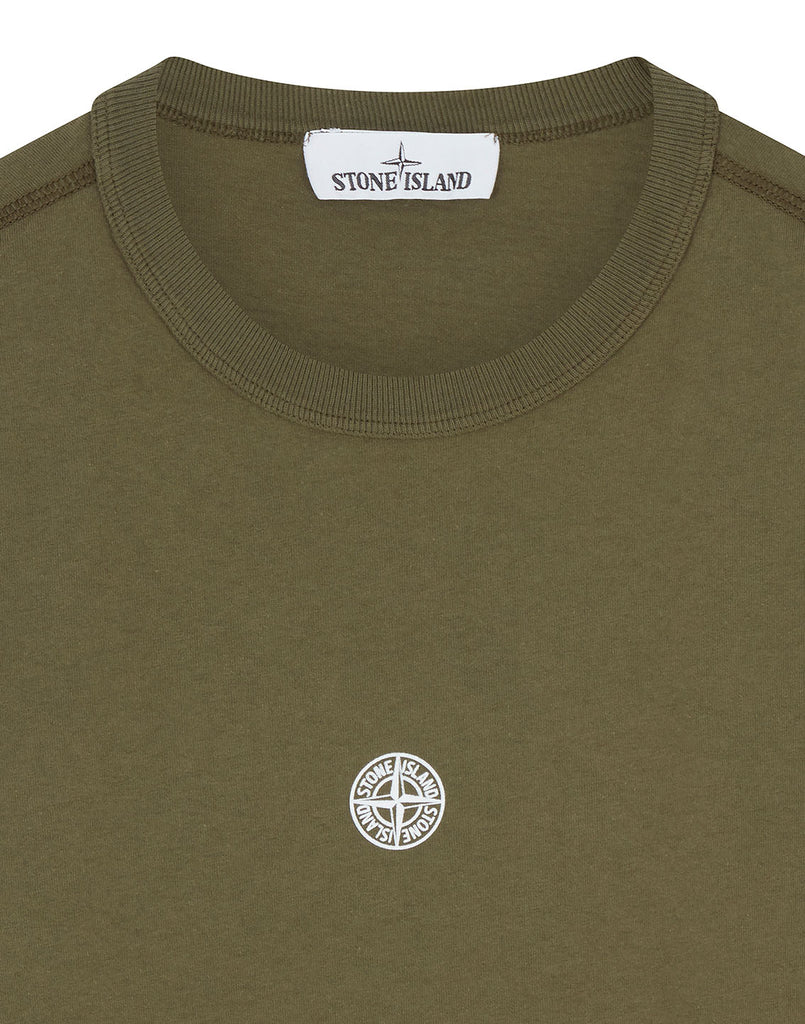 23484 'GRAPHIC FIVE' T-Shirt in Olive