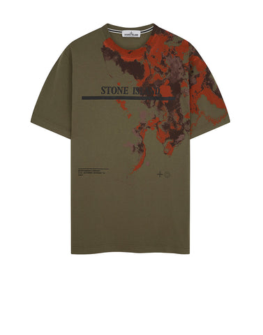 2NS87 'GRAPHIC EIGHT' T-Shirt in Olive