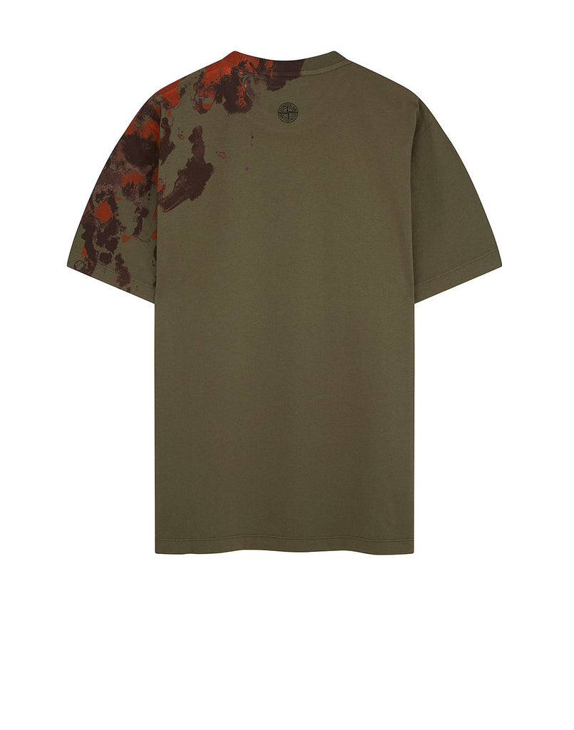 2NS85 'GRAPHIC EIGHT' T-Shirt in Olive