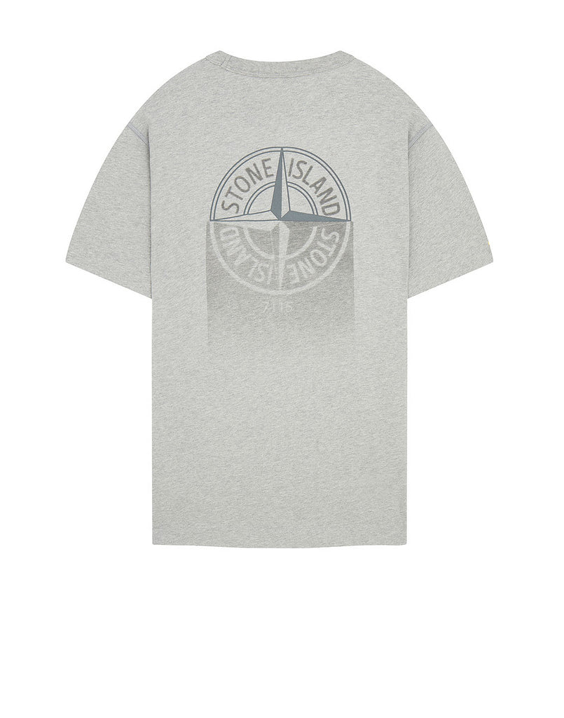 23380 'GRAPHIC ONE' PRINT T-Shirt in Dust Grey