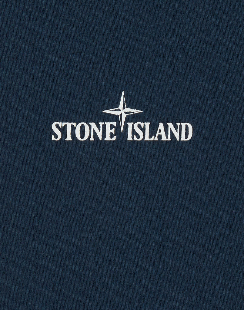 2NS84 'DRONE TWO' T-Shirt in Blue Marine