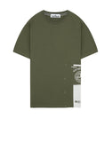 2NS83 'DRONE ONE' T-Shirt in Olive