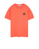 24113 T-Shirt in Orange Red