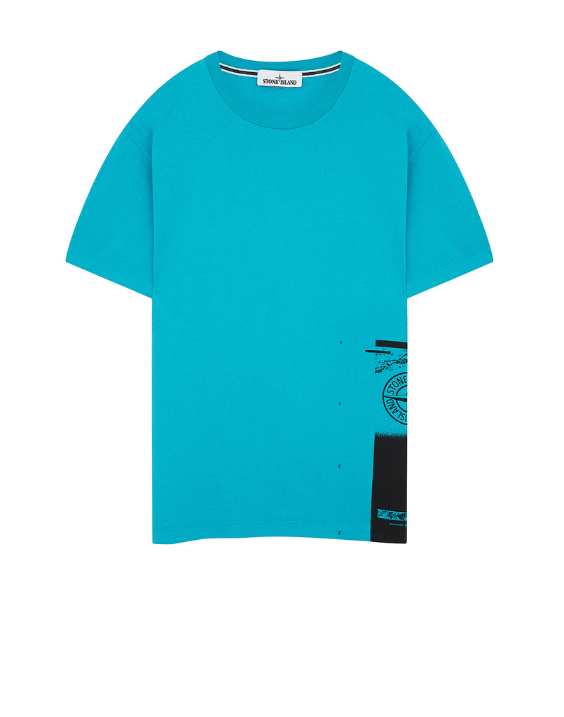 2NS83 'DRONE ONE' T-Shirt in Turquoise